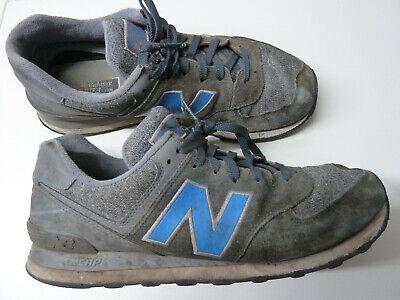 New Balance NB 574 Gr. 45,5 / US 11,5 / 29,5 cm Artikel # ML574TTC grau  blau | eBay