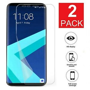2-Pack-Galaxy-S8-S9-S10-Plus-10e-5G-Note-8-9-Film-Screen-Protector-Film-Shield