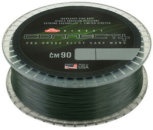 Berkley-NEW-Direct-Connect-CM90-CARP-Mono-Line-1200m-Spool-All-B-S