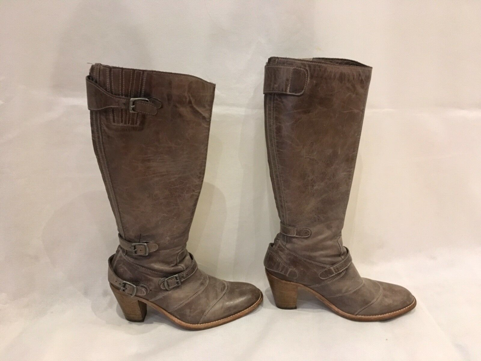 BELSTAFF TRIALMASTER HH IT38/UK5/US7 LIGHT BROWN BOOTS SIZE IT38/UK5/US7 HH 864dc9