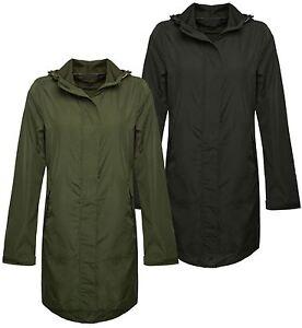New-Ladies-Womens-Showerproof-Mac-Light-Rain-Jacket-Plus-Sizes
