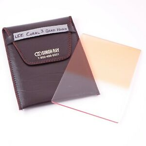 Lee Filters Coral Grad 4 Hard Graduated Coral Filter 4x6 Resin