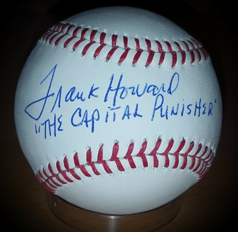 MANNY BANUELOS AUTOGRAPHED Rawlings Baseball Yankees signed w// COA ONYX auto