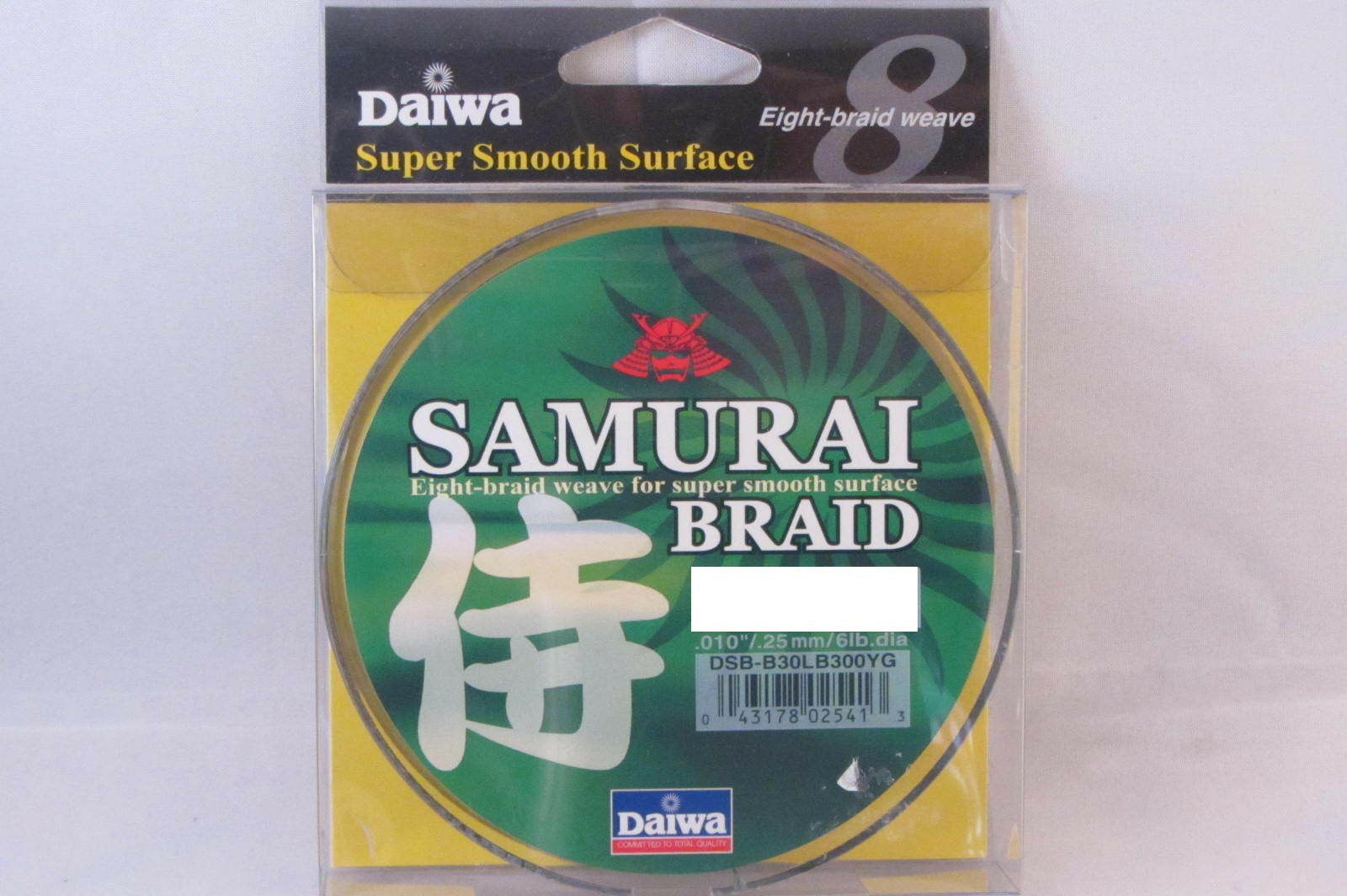 NEW DAIWA SAMURAI BRAID GREEN 70LB 300YD DSB-B70LB300YG