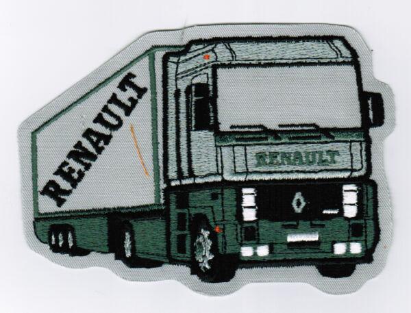 100% Vero Da Cucire / Toppa Renault Autoarticolato Camion Camion Grande Bello E Affascinante