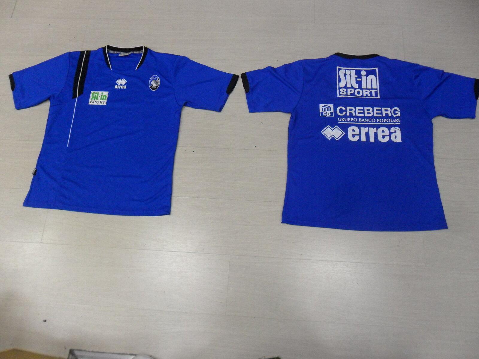 0028 T-Shirt Training TG L Atalanta Offiziell Training Trikot Jersey Trikot