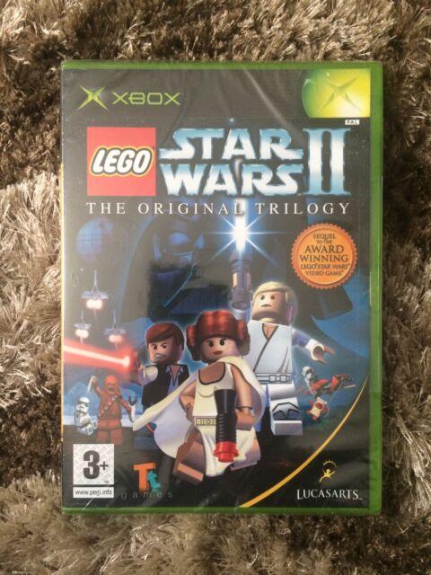 Lego Star Wars 2 The Original Trilogy Xbox Complete 3 LucasArts PAL
