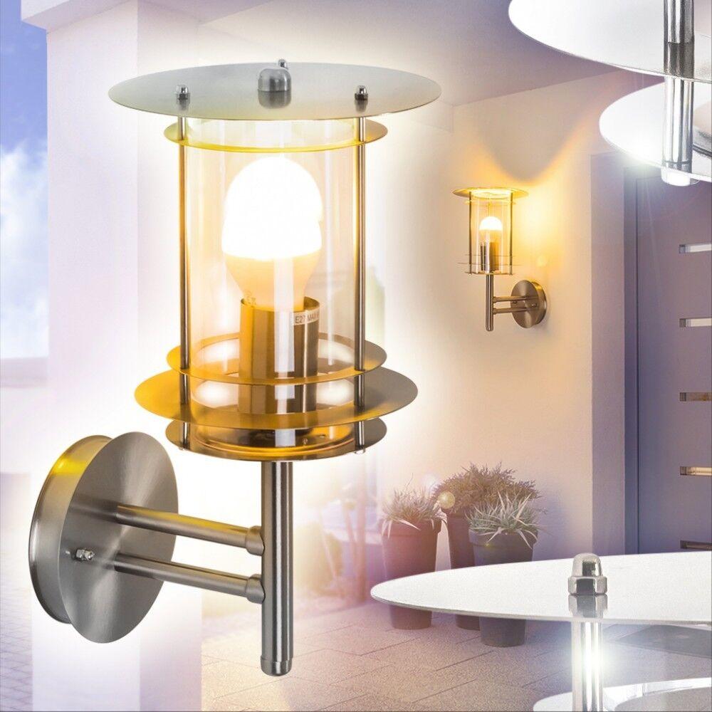 Moderna exterior parojo lámpara de parojo Luces jardín acero inoxidable porche lámparas patio