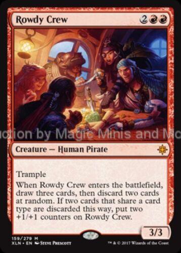 Ixalan ~  ROWDY CREW mythic rare Magic the Gathering card