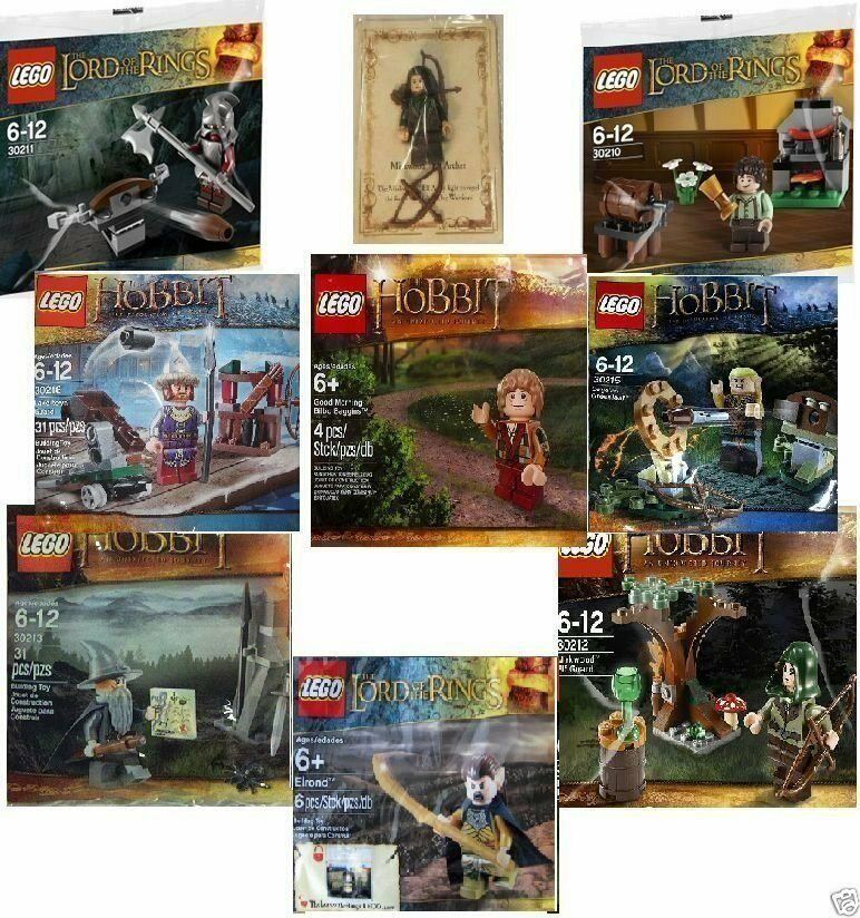 LEGO The Lord Of The Rings & The Hobbit Polybags - New  Meerled