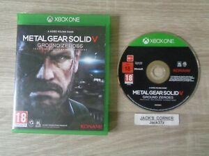 METAL-Gear-Solid-V-Ground-Zero-Xbox-GAME-1st-One-Classe-spedizione-gratuita-nel-Regno-Unito