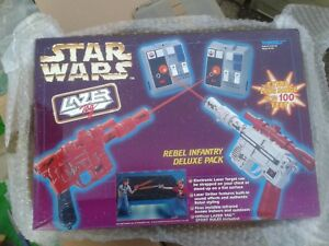 2019 Nouveau Style Star Wars Lazer Tag Vintage Rebel Infantry Deluxe Han Solo Blasters Toy - New