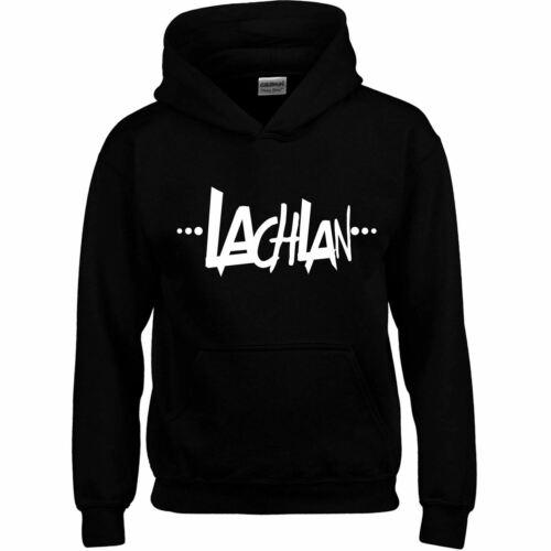 Lachlan Kids Men Hoodie Dress Top Youtuber Gaming Gift Present Hooded Sweatshirt