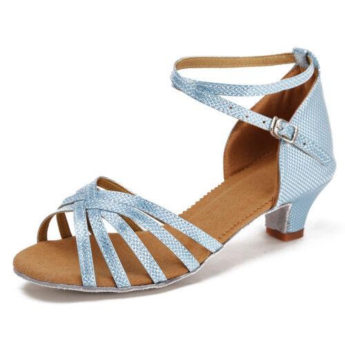 TangoSalsa Salón de baile zapatos de baile latino para mujeres niñas niños