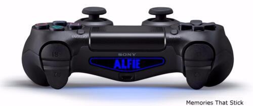 2 PS4 Playstation Controller Barra Luminosa Personalizzata Adesivo Decalcomania Personalizzata v1