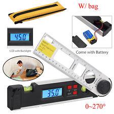 0270 Lcd Digital Inclinometer Protractor Spirit Level Angle Finder Gauge Meter