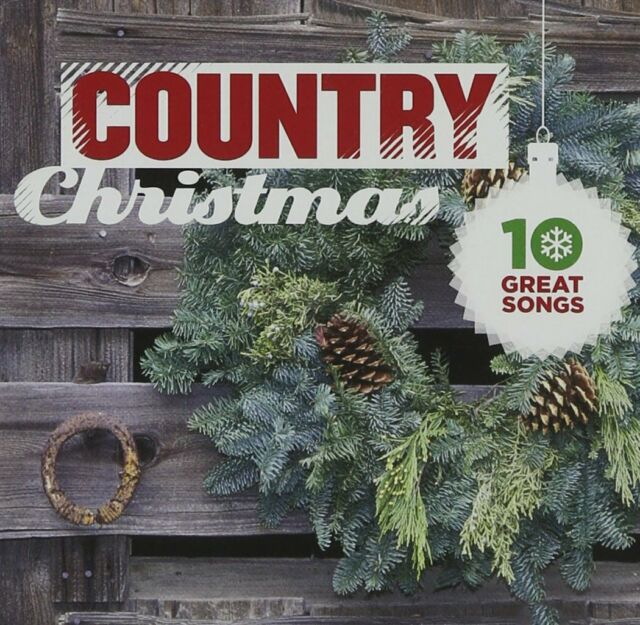 Various Artists - 10 Great Country Christmas Songs CD #1988835