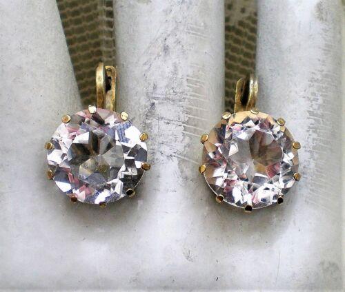 Bracelet Silver 925 Crystal part gilded designer Vintage SA372