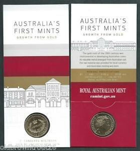 2016  $1 Australia's First  Mints -Growth for Gold-  'C' Canberra Mintmark Coin