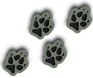ToeJamR-Snowboard-Stomp-Pad-4-PACK-OF-PUPPY-PAWS-GRAY