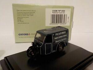 Model-Car-Tricycle-Van-Pickfords-1-76-New