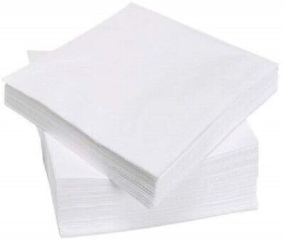 Tezraftaar/® 200 33cm X 33cm 2-Ply Napkins Soft Paper Napkins Tableware Party Supplies Celebration Black