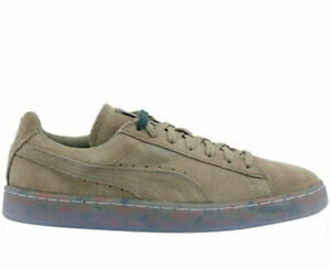 Puma Suede Classic v2 Grf Lace Up Olive
