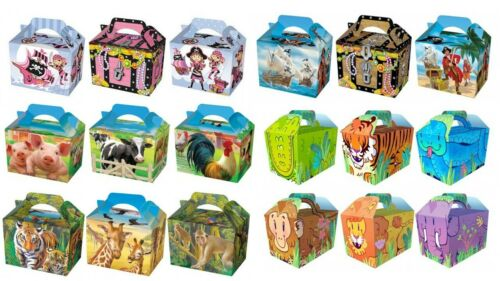 Food Box Party Easter Birthday Christmas Lunch Snack Treat Boxes Loot Fun Gift