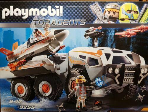 PLAYMOBIL 9255 Spy Team Battle Truck Nuovo//Scatola Originale
