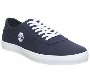 Zapatillas-De-Lona-Azul-Marino-Timberland-Union-exclusivo-Zapatillas-Zapatos