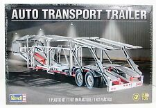 Auto Transport Trailer Revell 85-1509 1/25 New Truck Plastic Model Kit