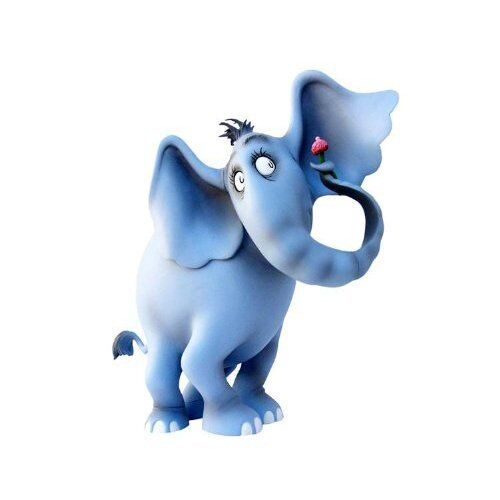 DR SEUSS HORTON HEARS A WHO 9  VINYL FIGURE blueE VHTF