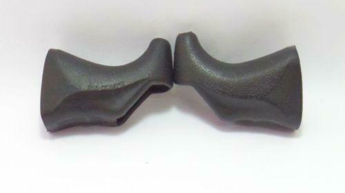 DIA COMPE  202 and 204 traditional brake lever hoods Black non aero style 1Pair