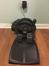 Logitech Momo Racing Steering Wheel Pedals and Shifter  For PC