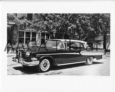 Ref. #39906 Picture Factory Photo 1958 Ford Edsel Citation 2 Door Hardtop