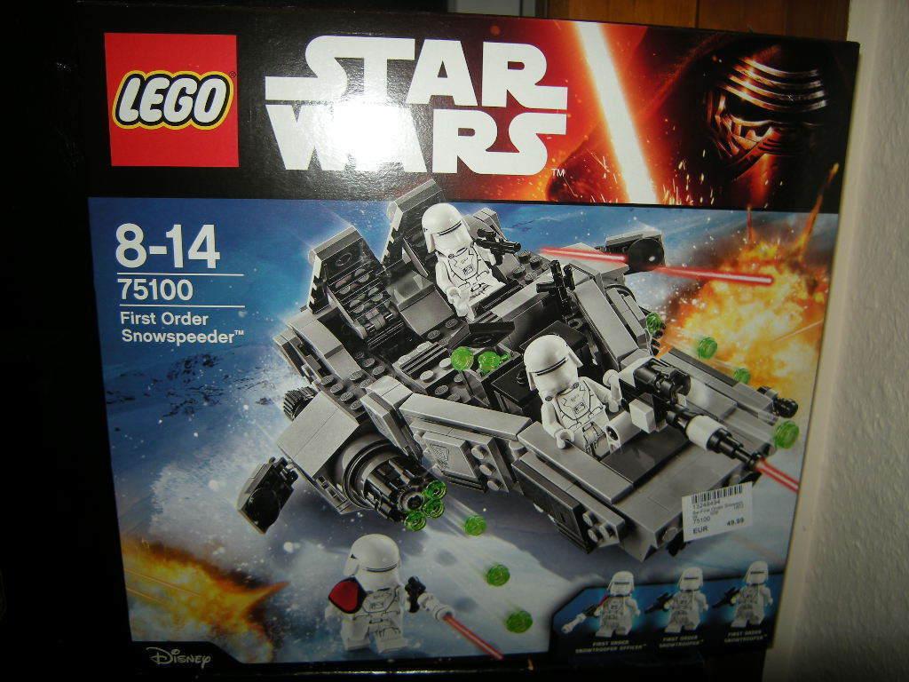 LEGO Star Wars first order Snowspeeder 8-14 anni n. 75100 OVP