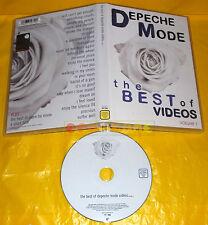 DEPECHE MODE THE BEST OF VIDEOS Volume 1 - Dvd ○○○ USATO
