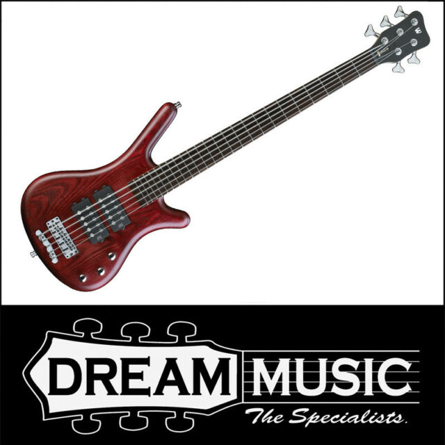 Warwick Rockbass Corvette $$ 5 String Electric Bass Red Burgundy Finish RRP$1599