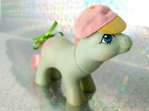 Baby Cuddles Hasbro G1 Vintage My Little Pony With Hat