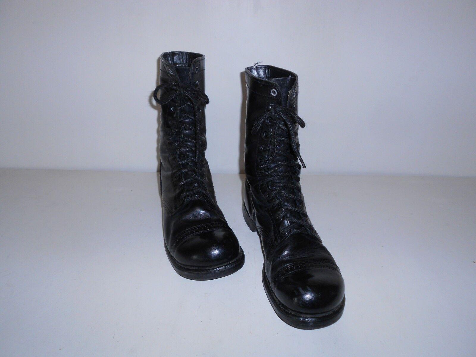 Para Hombre botas paracaidista Corcoran Combate Militar Puntera medio de 10 D