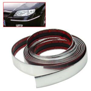 22mm*3M Chrome Car Styling Moulding Strip Trim Self Adhesive Bumper Guard Tape