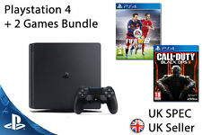 NEW SEALED Playstation 4 Console SLIM (PS4) UK Call of Duty BLACK OPS 3 + FIFA