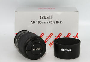Mamiya Sekor AF 150mm f/2.8 IF D Lens For 645-AFD II / III and Phase One