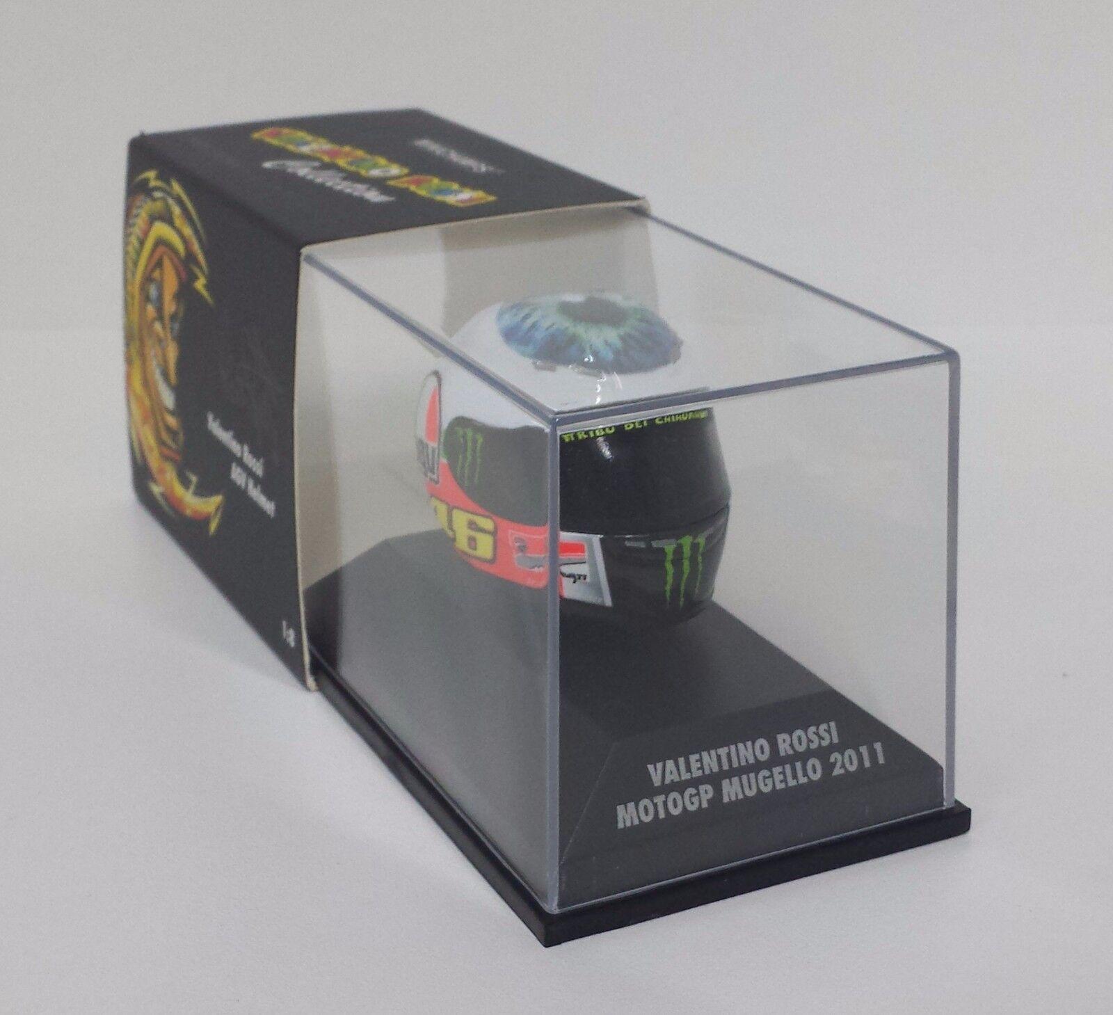 Minichamps Valentino Rossi AGV Casque Helmet 1 8 Motogp Mugello 2011   Eye