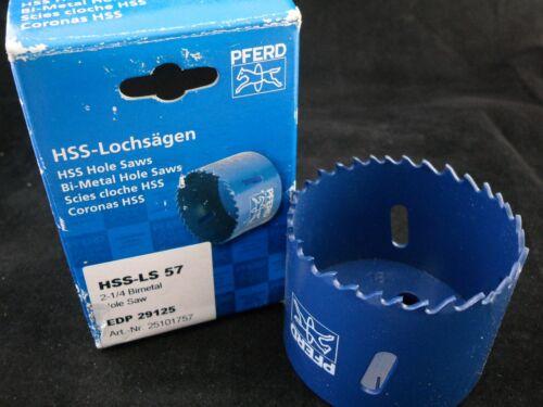 EDP 29125 Pferd HSS-LS 57 Lochsäge Bi-Metall 57mm Neu!! # 25101757
