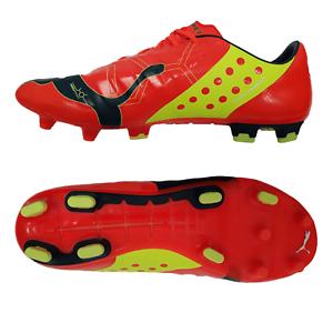 Puma EVOPower 1 FG botas de fútbol señores césped zapatos naranja o amarillo nuevo embalaje original