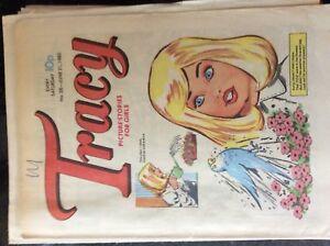 box C  rare comic tracy no 38 june 21st 1980 - Leicester, United Kingdom - box C  rare comic tracy no 38 june 21st 1980 - Leicester, United Kingdom