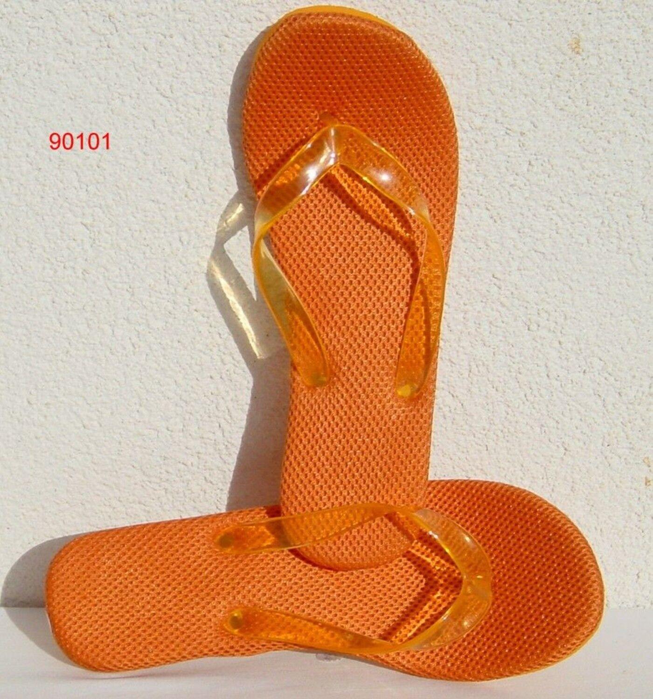 Dianette Sandalen Zehentrenner Orange Pumps Badeschuhe Stilettos Absatz Orange Zehentrenner A 36-40 3f0d42