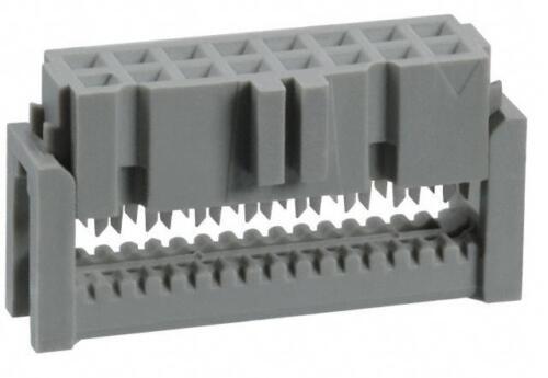10x 89120-0101 3M IDC Buchsenstecker 20 polig|0,80€//ST|Scheidklemmen|0,76µ|Neu