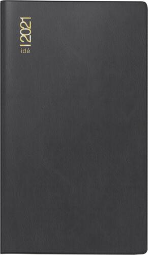 Rido Plankalender TM17 Alpha schwarz 1Woche//2Seiten 2021